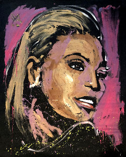 Beyonce 2017 72x59 Original Painting - David Garibaldi