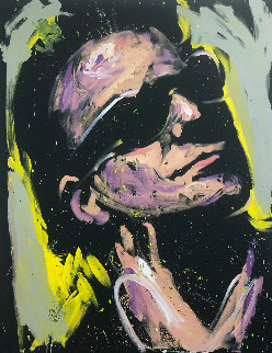 Bono 2013 66x55 Original Painting by David Garibaldi