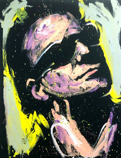 Bono 2013 66x55 Original Painting by David Garibaldi