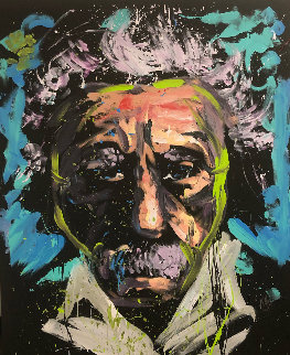 Einstein 2013 66x55 Original Painting by David Garibaldi