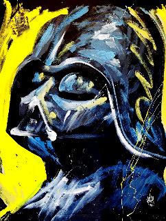 Darth Vader 2012 68x58 Huge  Original Painting - David Garibaldi