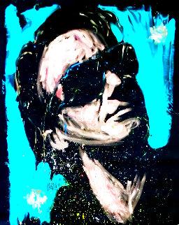 Bono 2008 70x59 Huge Original Painting - David Garibaldi