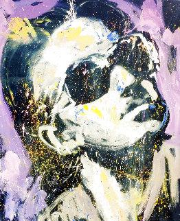 Bono 2007 72x60 - Huge Original Painting - David Garibaldi
