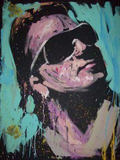 Bono, U2 2009 72x60 Original Painting by David Garibaldi