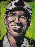 Jimmy Buffett 2011 72x60 Super Huge Original Painting by David Garibaldi - 0