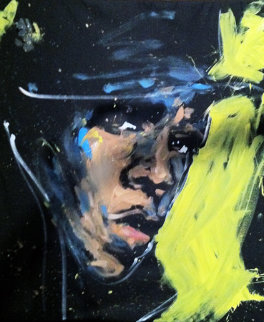 Jay-Z 2012 72x60 Original Painting - David Garibaldi