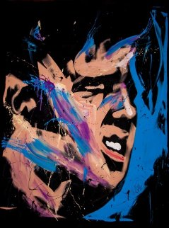 Elvis Presley 57x70 2013 Huge Original Painting - David Garibaldi