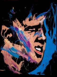 Elvis Presley 57x70 2013 Original Painting by David Garibaldi