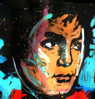 Michael Jackson 2012 72x60 Super Huge Original Painting - David Garibaldi