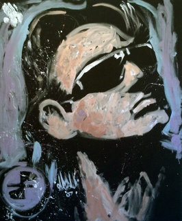 Bono U2 2007 66x55 Super Huge Original Painting - David Garibaldi
