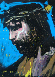 Jesus Christ 2008 68x58 Original Painting - David Garibaldi