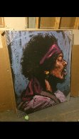Jimi Hendrix - Bandana 2008 50x60 Super Huge Limited Edition Print by David Garibaldi - 1