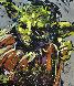 Yoda 2015 72x63 Star Wars Original Painting by David Garibaldi - 0