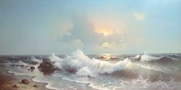 Morning Sea  Original Painting - Eugene Garin