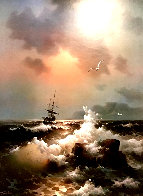 Untitled Seascape Limited Edition Print by Eugene Garin - 0