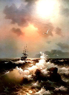 Untitled Seascape Limited Edition Print - Eugene Garin