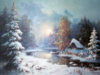 Williamette Valley, Oregon 26x30 Original Painting by Eugene Garin - 0