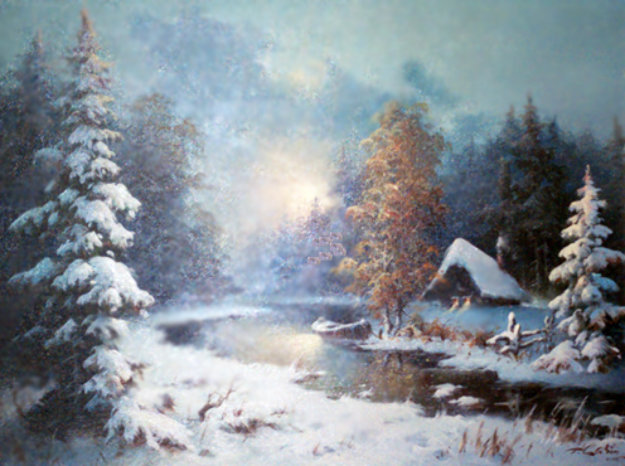 Williamette Valley, Oregon 26x30 Original Painting by Eugene Garin