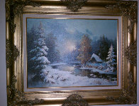Williamette Valley, Oregon 26x30 Original Painting by Eugene Garin - 1