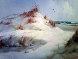 Untitled Winter Landscape 46x34 Original Painting by Eugene Garin - 0