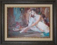 Ballerina 42x52 Super Huge Original Painting by Michael and Inessa  Garmash - 1
