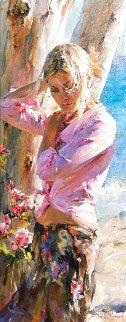 Summer Dream 53x29 Huge Original Painting - Michael and Inessa  Garmash