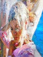 Summer Dream 53x29 Huge Original Painting by Michael and Inessa  Garmash - 3
