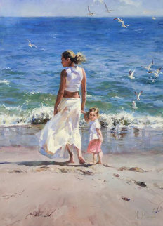 Ocean For Two 2006 Embellished Limited Edition Print - Michael and Inessa  Garmash