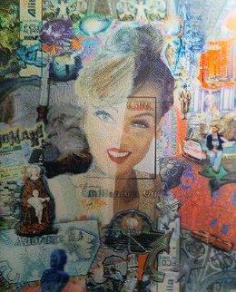 Millennium Girl Unique 1997 54x46 Huge  Photography - Laurence Gartel