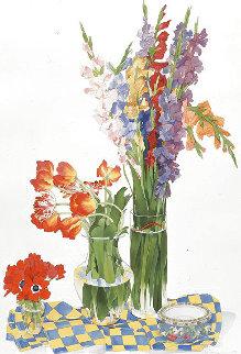 California Composition 1998 56x39 Huge Limited Edition Print - Gary Bukovnik