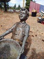 Harvest Joy Kids Bronze Sculpture 2001 26 in Sculpture by Gary Lee Price - 2