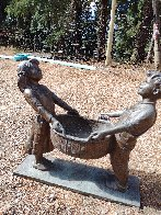 Harvest Joy Kids Bronze Sculpture 2001 26 in Sculpture by Gary Lee Price - 3