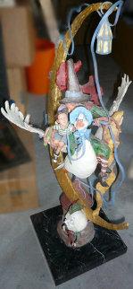 Bedtime Stories Bronze Sculpture 1991 35 in Sculpture - Gary Lee Price