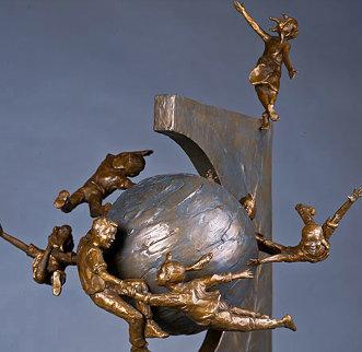 Celebration Bronze Sculpture 1994 25 in Sculpture - Gary Lee Price