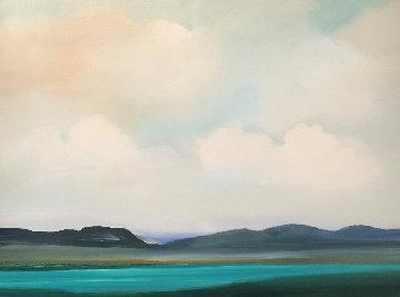 Black Hills 2000 40x50 Super Huge Original Painting - Jerome Gastaldi