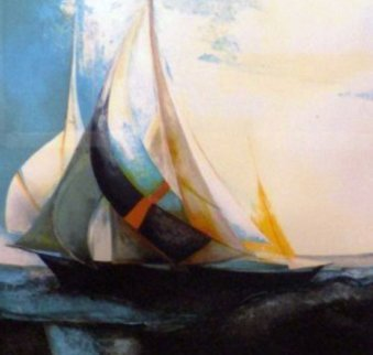 Le Bateau IV 1986 Limited Edition Print - Claude Gaveau