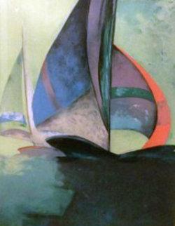 Le Bateau VIII Limited Edition Print by Claude Gaveau