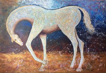 Champion 2018 48x72 Original Painting by Gaylord Soli  (Gaylord)