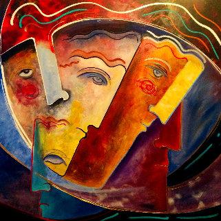 Senate 2019 48x48 Super Huge Original Painting - Gaylord Soli  (Gaylord)