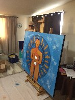 Peace 2019 48x60 Huge Original Painting by Gaylord Soli  (Gaylord) - 1