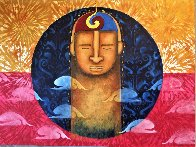 Meditation 2020 30x40 Original Painting by Gaylord Soli  (Gaylord) - 1