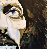 George Harrison 30x30 Original Painting by Gaylord Soli  (Gaylord) - 0