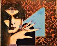 Gypsy 2020 24x30 Original Painting by Gaylord Soli  (Gaylord) - 1