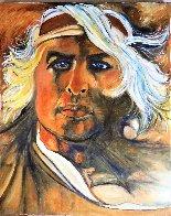 Brando 2020 30x24  Original Painting by Gaylord Soli  (Gaylord) - 1