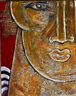 Roman 2020 30x24 Original Painting - Gaylord Soli  (Gaylord)