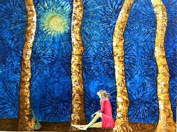 Faith 2020 36x48 Super Huge Original Painting - Gaylord Soli  (Gaylord)
