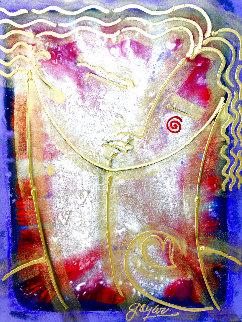 Alessander 1995 48x36 Super Huge Original Painting - Gaylord Soli  (Gaylord)