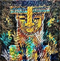 Amazonian 2021 36x36 Original Painting by Gaylord Soli  (Gaylord) - 1
