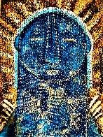 Mayan 2021 40x30 Super Huge Original Painting by Gaylord Soli  (Gaylord) - 0