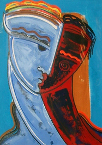 Untitled, Set of 2  Limited Edition Print by Gaylord Soli  (Gaylord)